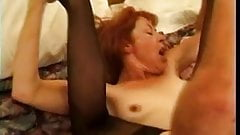 Mature Redhead Trudy True Sucks and Fucks