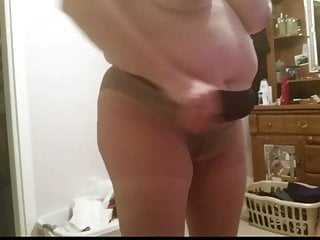 Black Pantys Panty Hoes Black Girdle Big Tits
