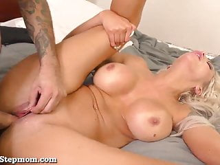 Super Hot Stepmom Gets Some Dick