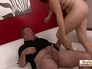 Older couple decides to spice up their sex life by doing por