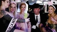Porn Music Vide - Bachelorette Party In The Back of a Limo