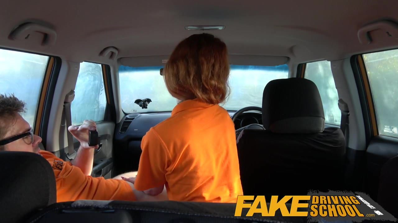 Free download & watch fake driving school swotty ginger student has pussy filled         porn movies