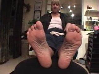 Grandma pretty feet
