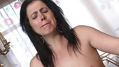 Naughty mother rough fucked by