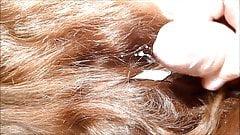 cum hair 2