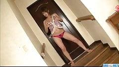 Amazing fuck with busty Japan model Ruri Kouda