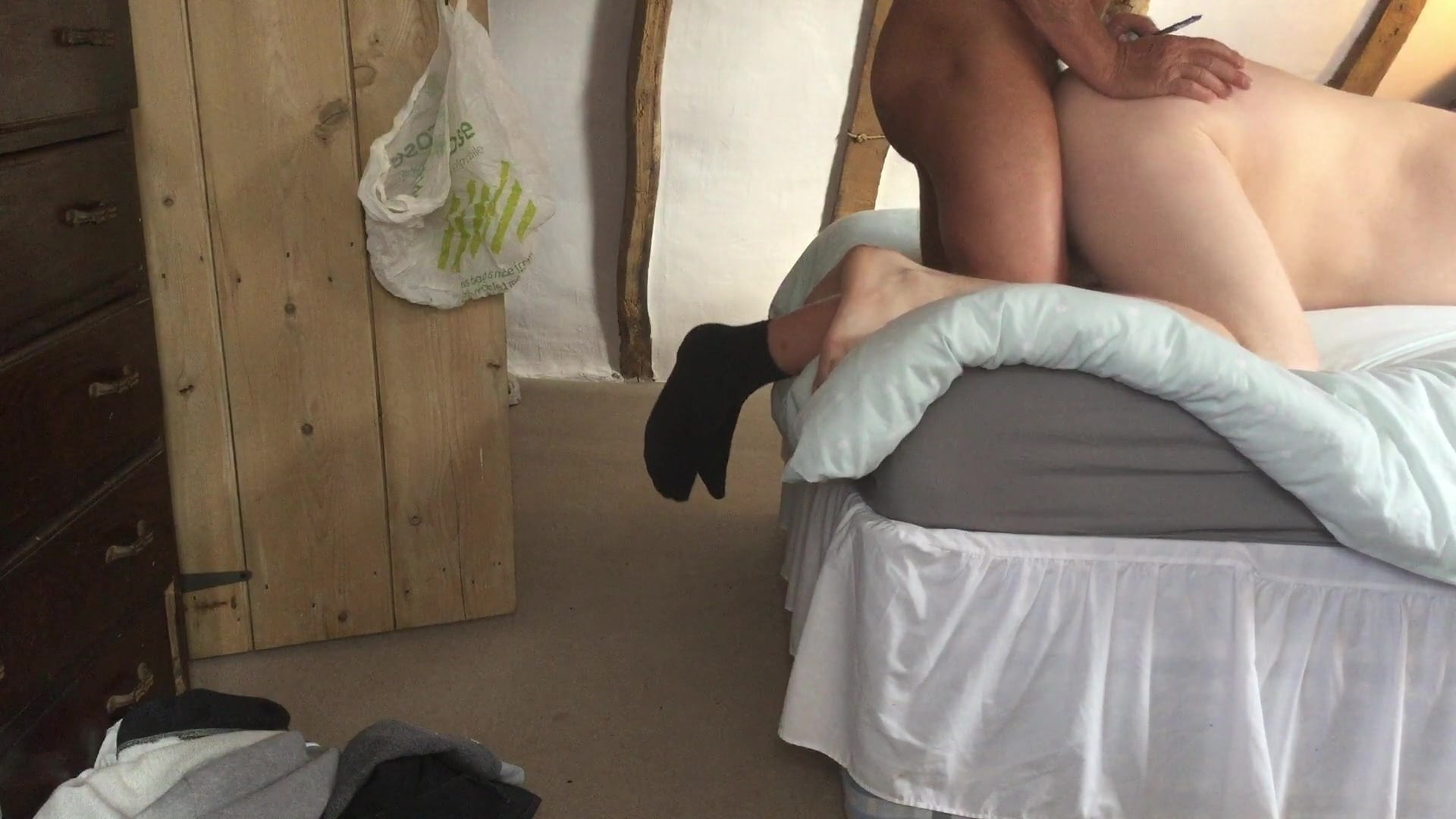 My first fuck from daddy bareback ,remark for extra