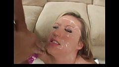 Memphis Monroe gets blasted by 2 big loads