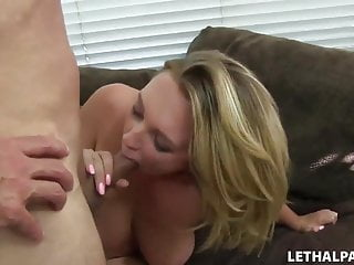 Busty Blonde Gets Picked Up By Porn Agent!