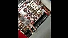 Candid Teen legs at CVS in heels