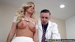 Brazzers - Doctor Adventures - A Dose Of Cock For Co-Ed Blue