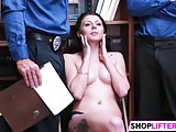 Hot Cutie Megan Gets Drilled For Theft