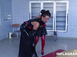 Preview 2 of German Hospital Lesbian Latex Fetish