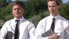 Cowboy teaches mormon students