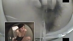Toilet Hidden Camera Masturbation