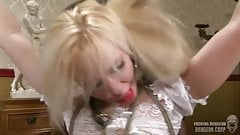 Blonde Slut sold to BBC for rough and brutal sex
