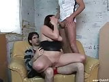 Dutch Sister Anal Threesome With Brothers
