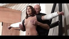 Stuning bdsm wife full hard time punish sex on the flat's Thumb