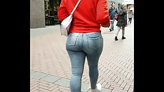 Hot ASS girl in Jeans