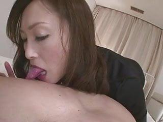 Slutty Miyama Ranko Gives Her Guy A Tongue Lashing