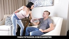 FamilyStrokes - it`s very HOT  Step-Aunt Seduces Nephew
