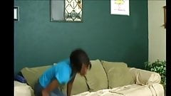 skinny ebony butt spanked and paddled