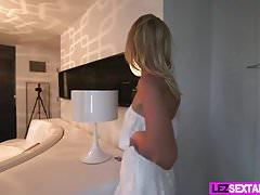 Lez Sextape With Lena Nicole And Serena Blair