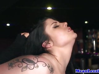 Lezdom lesbian babes fetish bondage sex with toys