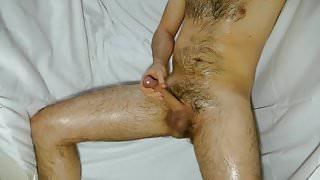 Working my cock, handjob, cumshot, wanking, masturbation