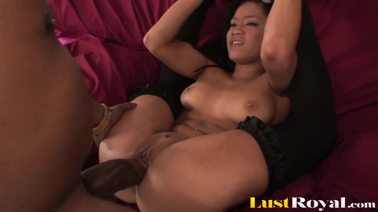 Petite Ebony Girl Cant Take A Monster Cock In Tight-4872