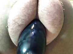 Sissy bitch fucked dildo inflatable to scream