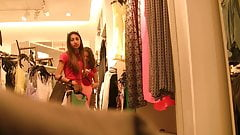 Two Cute Latina Teens Shoppin' (Graz 10)