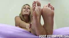 My feet will make your big cock so hard