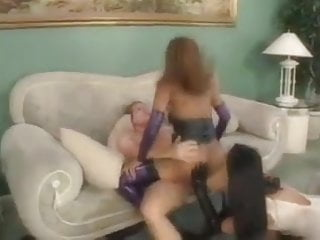Blacks Girls In Latex Pounded By White