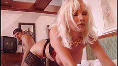 Busty Helen gets dp pleasure