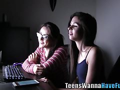 Real group teens swap cum