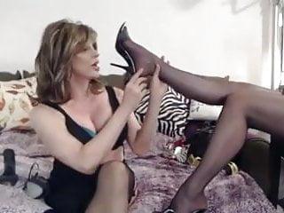 Tv Worship Nylon Feet