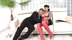 SUPER Hot Secretary Has Anal Sex W Boss porn image