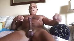 Big Old man cumming