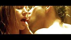 Celebrity Sex Scene - Natasha Henstridge Sauna Sex