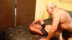 sexy german grandpa fucks german milf