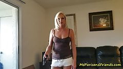 Ms Paris Knows How to Get Her Pussy FUCKED