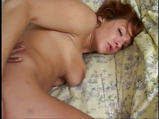 Redhead slut gets her tight bung hole fucked