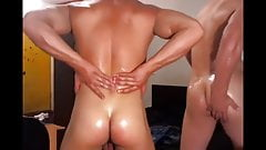 Vladimir Ganjin with his friend give Webcam show