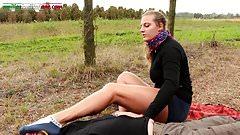The Voyeur Ep1 Part 1 - Trampling in the Outdoor