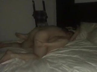 Cuck hubby gets sloppy seconds after I finished with her.