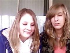 Hot teen girls spitting comps