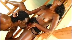 Sexy Teen Ebony Pornstar fucked by Hard Big Black Cock
