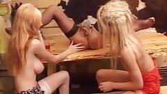 Amateur - Lesbian Bottling in a Bar.