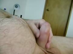my hard cock wanking
